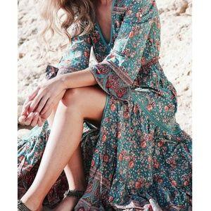 Jamawar Maxi Gown